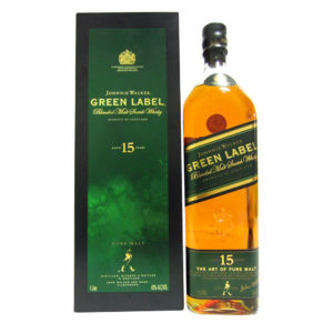 Johnnie Walker Green Label NWI - 1 Litre
