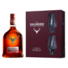 Dalmore 12 Year Old & Glasses