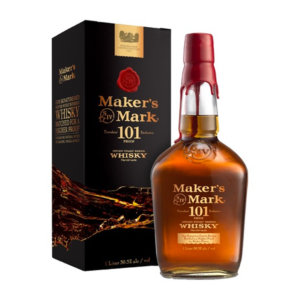 Makers Mark 101 Proof – 1 Litre