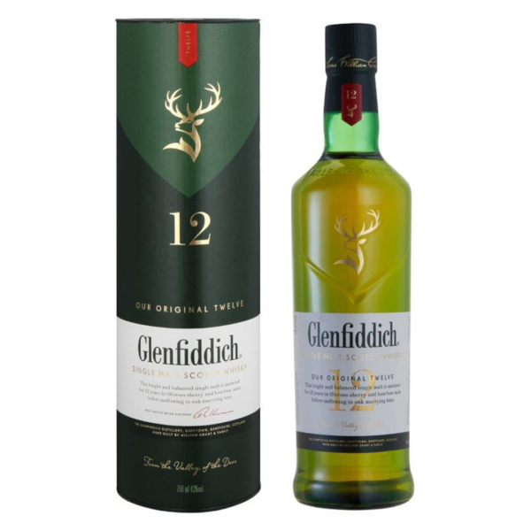 Glenfiddich 12 Year Old Whisky